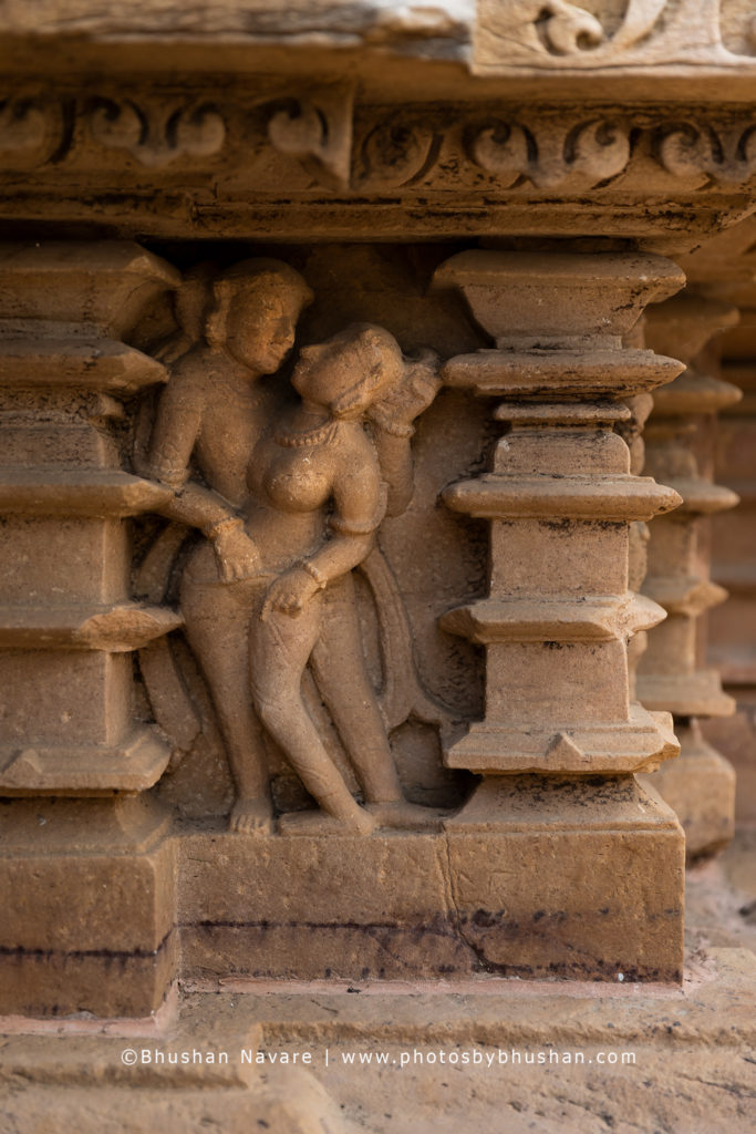 Carvings on the Laxmana Temple @Khajuraho